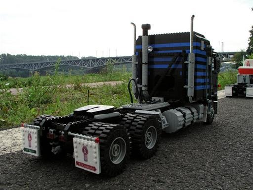 LEGO Semi Trucks Look Like the Real Deal