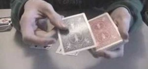 Perform David Blaine's card magic trick