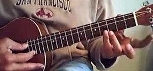 Play the ukulele in slack key