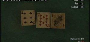 Cheat during poker and win the game in Red Dead Redemption on the Xbox 360