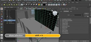 Create a mental ray area light in Autodesk Maya 2011