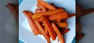 Make sweet tasting cinnamon-glazed roasted carrots