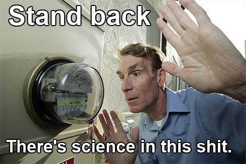 Electricity Humor with Bill Nye the Science Guy