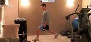 Practice proper lunge posture