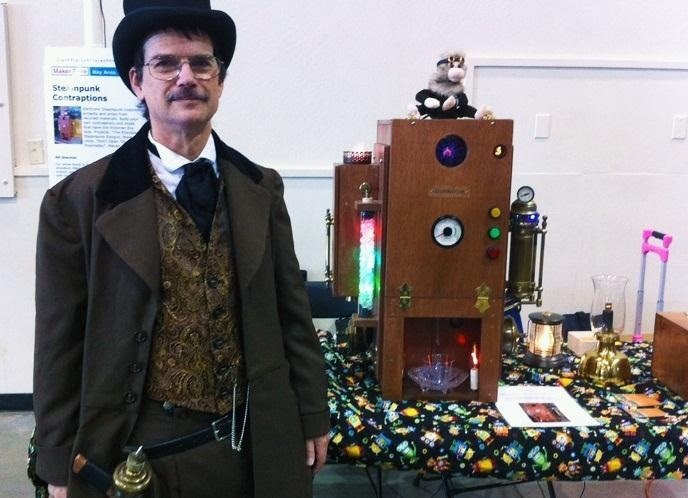 Steampunk Your Next Party with the Elixirator, a Truly Exquisite DIY Robotic Bartender