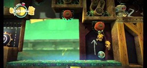 Find all of the prize bubbles on Gripple Grapple in LittleBigPlanet 2