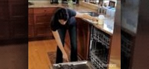 Clean a dirty dishwasher using lemonade mix
