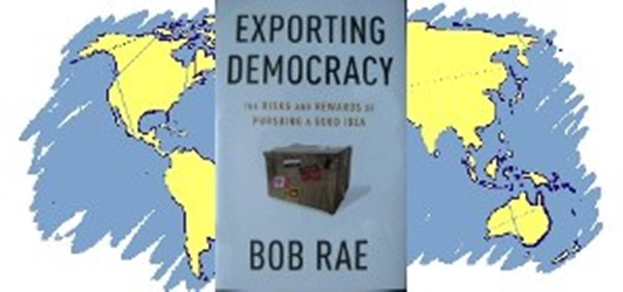 The dangers of exporting democracy