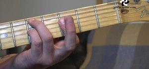 Do the I VI II V jazz guitar exercise