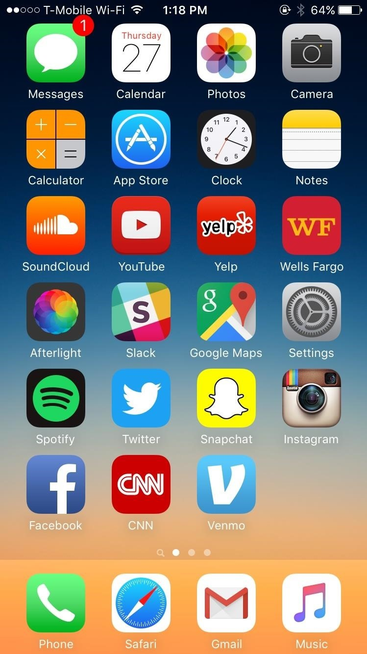 iphone home screen layout how to reset your iphone s home screen layout 171 ios gadget 15300