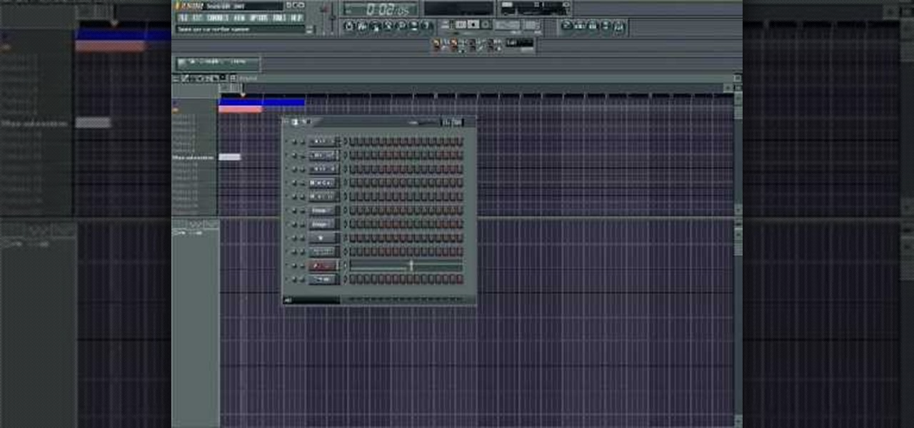 How to Make a hip-hop beat in Fruity Loops � FL Studio