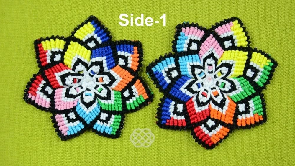 How to Mandala Flower in Macramé