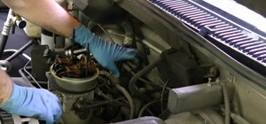 Replace an oil pressure sending unit to fix a low engine oil pressure gauge