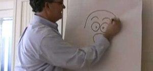 Draw a cartoon Santa Claus