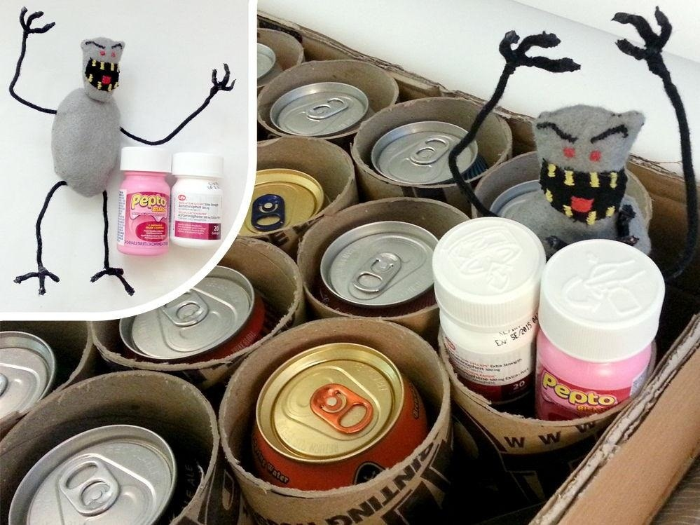 Carouse Your Way to Christmas with This DIY Beer Can Advent Calendar