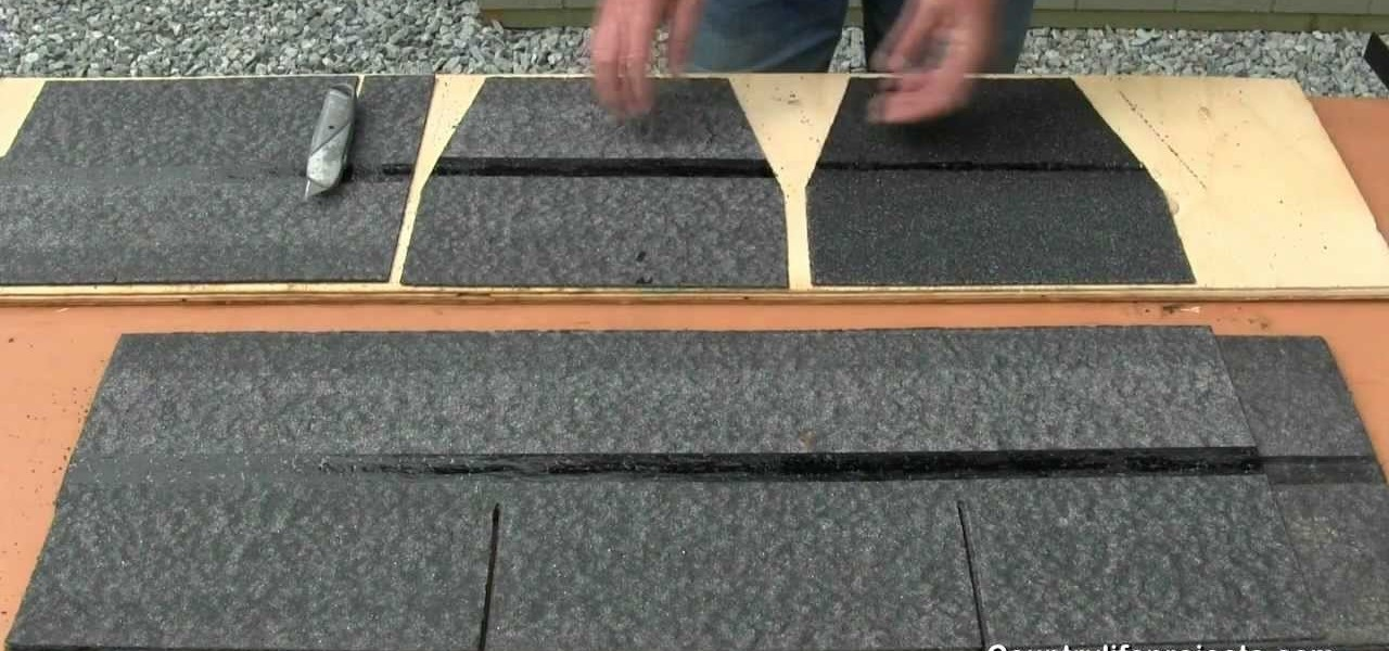 How to Build a Shed, Part 13: Installing a 3-Tab Asphalt Shingle Roof « Construction & Repair