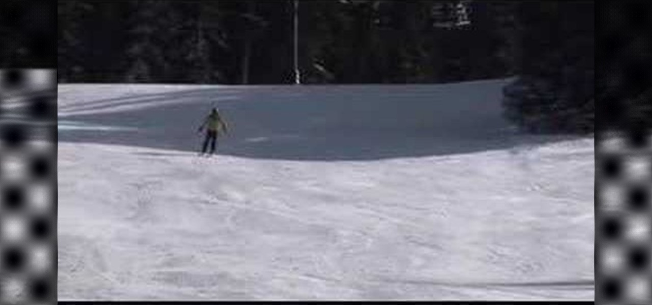 How to carve turns on shaped skis « skiing
