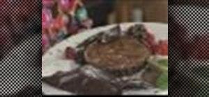 Make triple chocolate treat