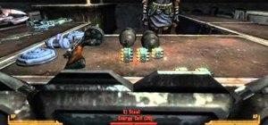 Rob the Silver Rush casino in Fallout: New Vegas