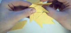 Make an origami pinwheel