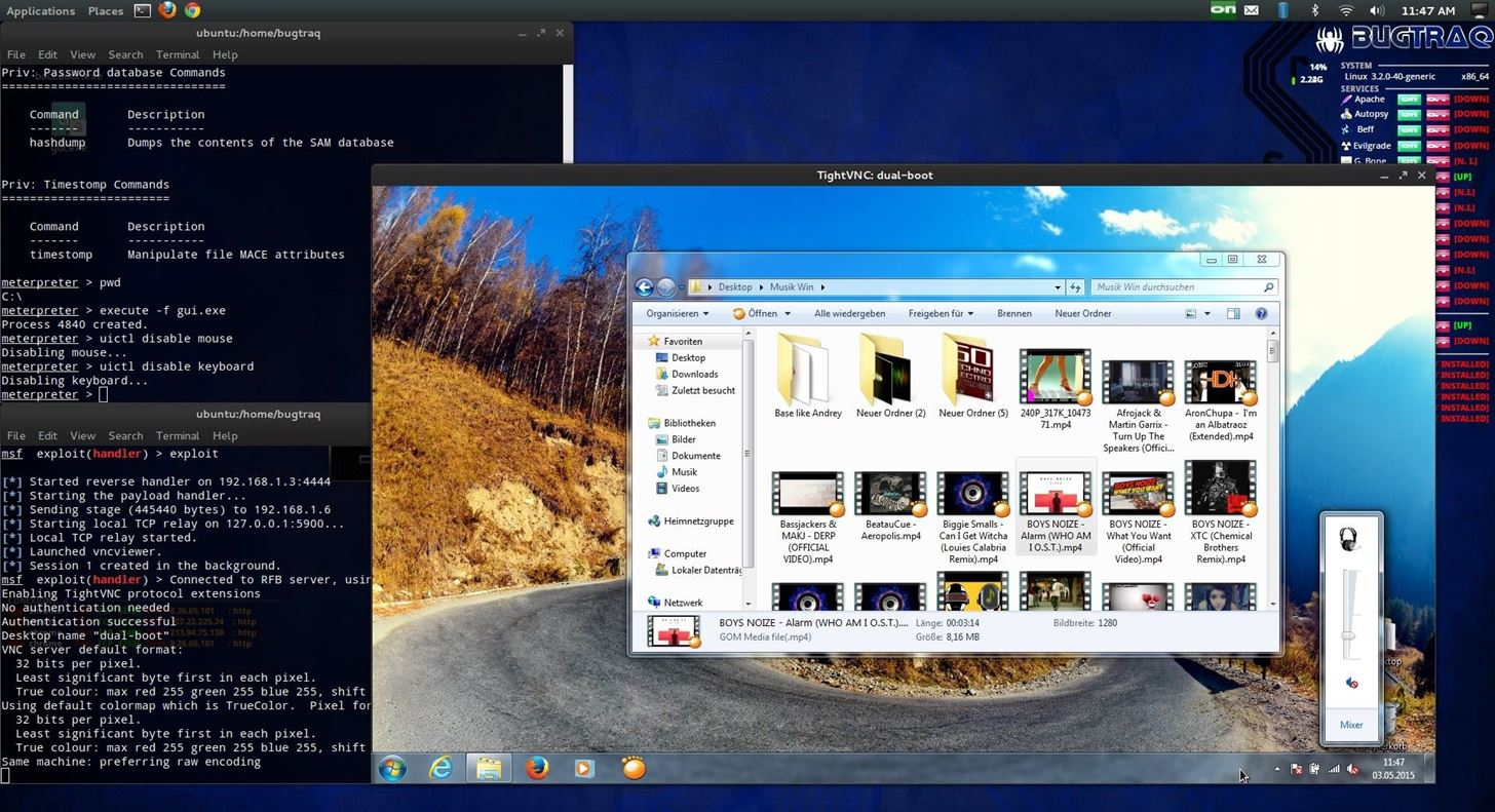 How to Run an VNC Server on Win7