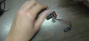 Maintain a Smart Parts Ion paintball gun solenoid