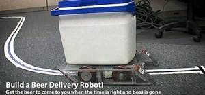Build a robot that delivers beer