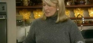 Make Brussels sprouts with Martha Stewart