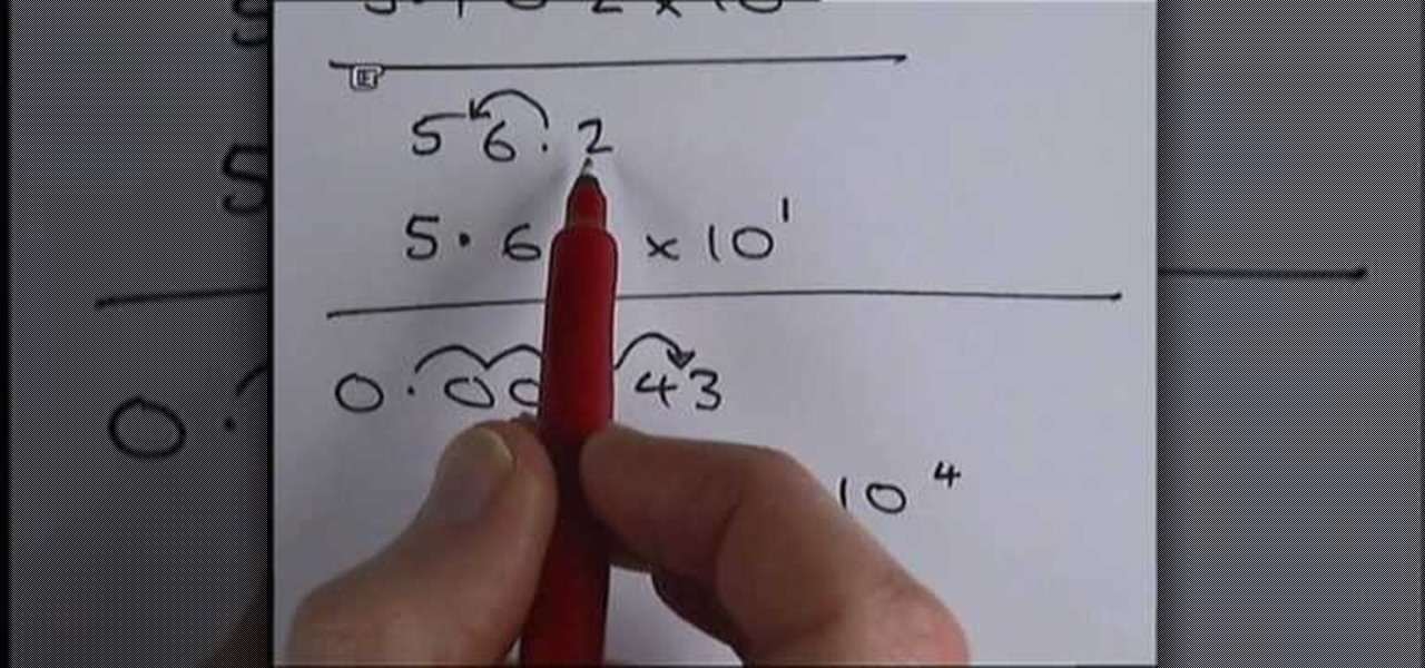 How To Convert Numbers In And Out Of Standard Form Math Wonderhowto