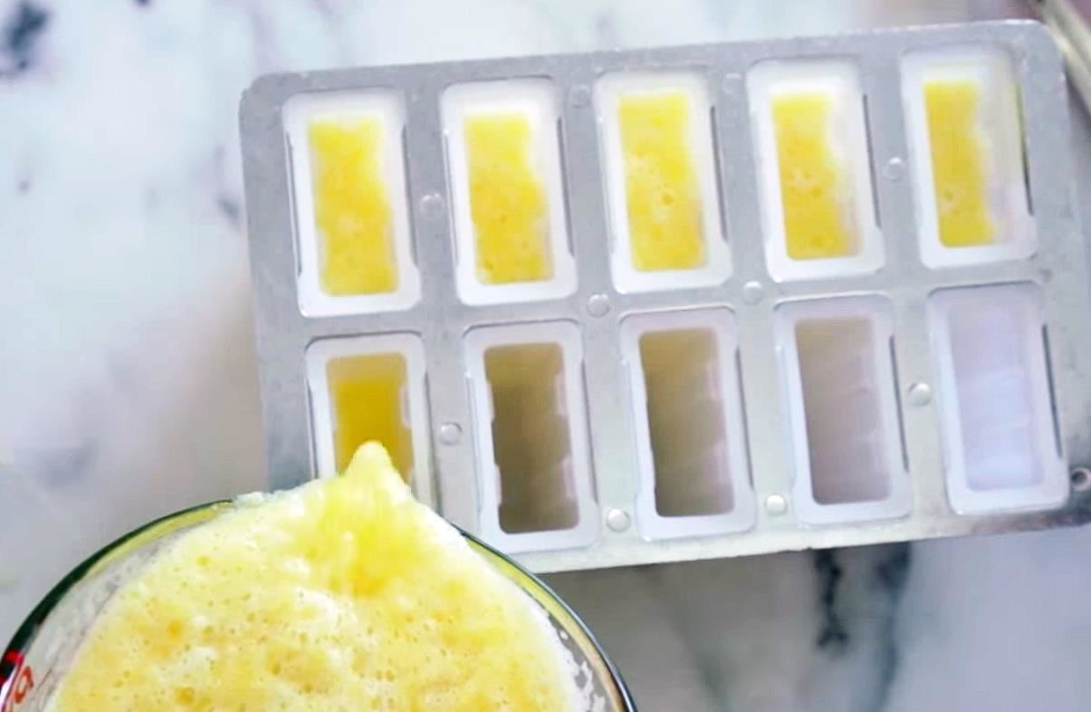 How to Make Tequila Sunrise Popsicles