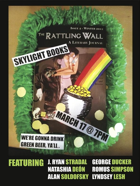 The Rattling Wall Issue 4, (publishing Opportunity)