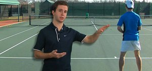 Practice the windshield wiper forehand in tennis