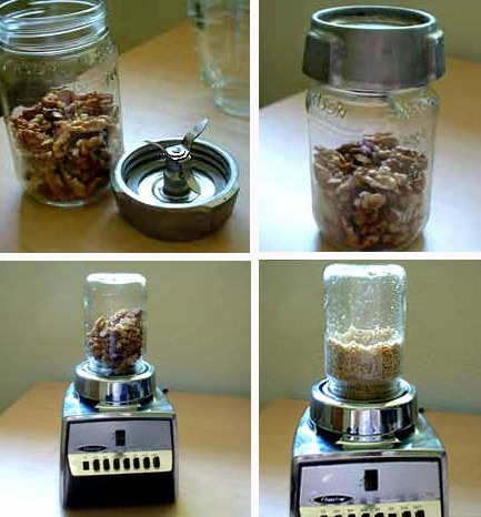 Mind Boggling Tip: Did You Know a Mason Jar Can Be Used with a Blender?