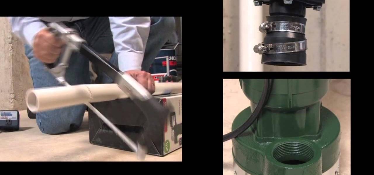 how to install a basement watchdog ac powered sump pump system