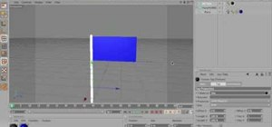 Make a realistic flying flag in MAXON Cinema 4D