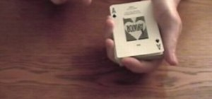 Perform the two-card monte card trick