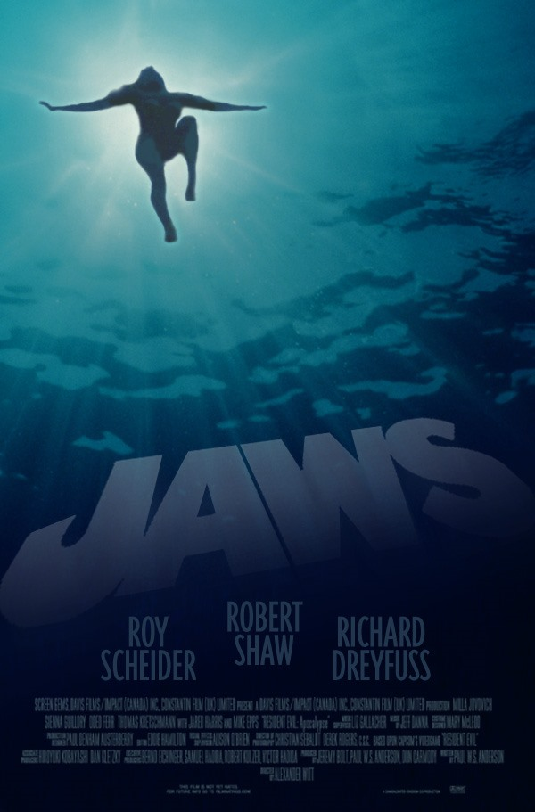 Jaws Tribute Poster