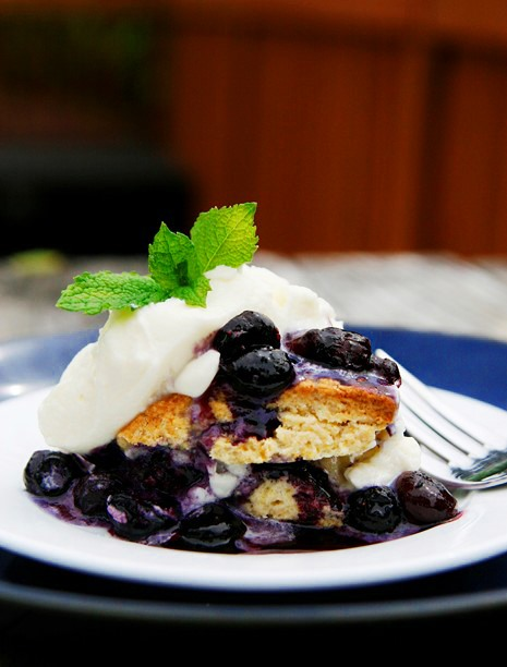 RECIPE: Blueberry Shortcake