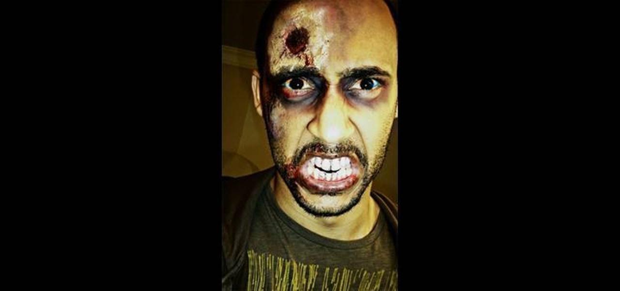 How to Apply half dead zombie makeup for Halloween « Makeup ...