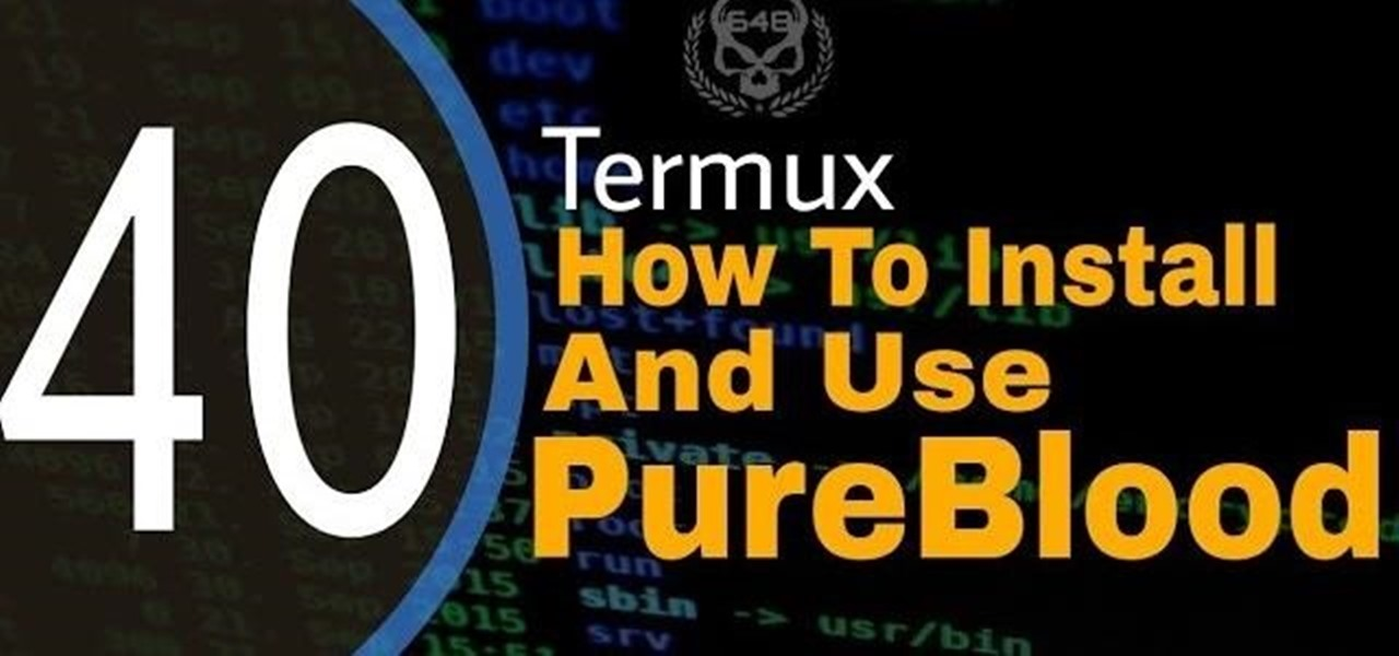 How to Install and Use Pureblood in Termux Without Root