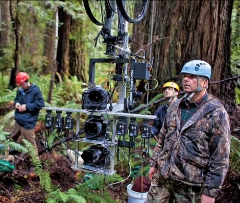 Gyroscope Steadies Super Duper 3-Vertical-Camera-Rig for Nat Geo