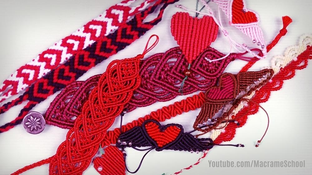 Hearts and Heart Bracelets for Valentines