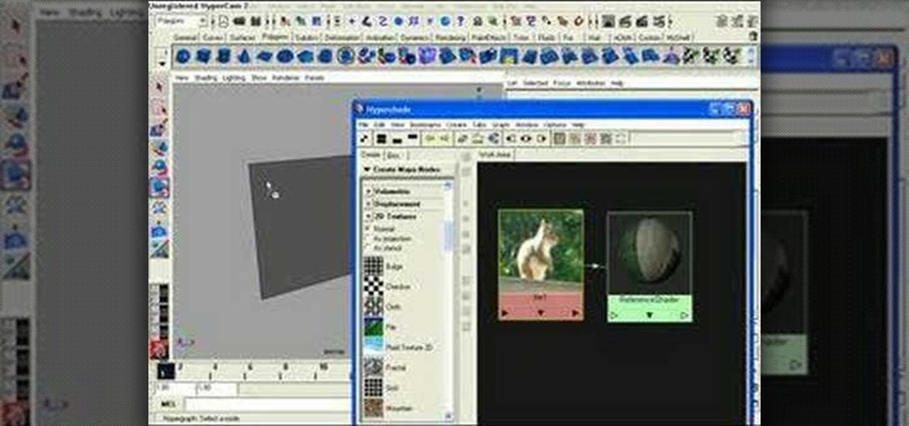 how to set up image reference planes in maya  u00ab maya