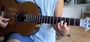 """Play """"Ka Uluwehi O Ke Kai"""" on the acoustic guitar"""