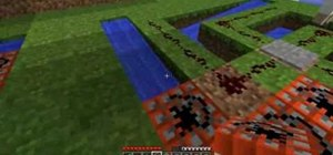 Create an effective launchpad in the game Minecraft