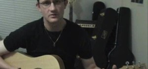 """Play """"Let It Be"""" by The Beatles on acoustic guitar"""
