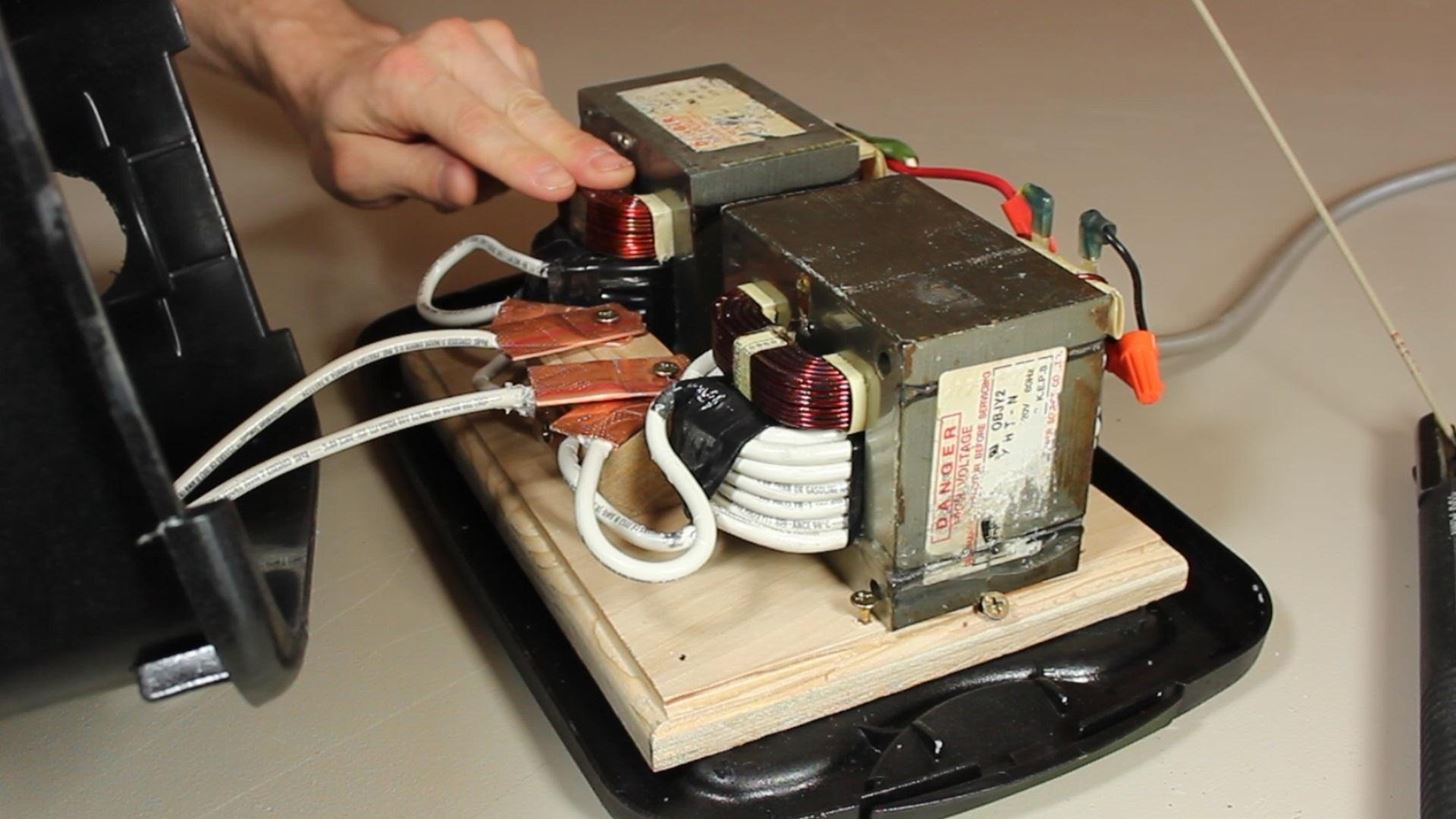 Diy Stick Welder From Old Microwave Parts 171 Hacks Mods
