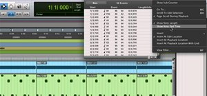 Access and use the MIDI event list in Pro Tools 9