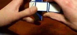 Solve a Rubik's Twist