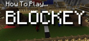 Play Blockey in Minecraft